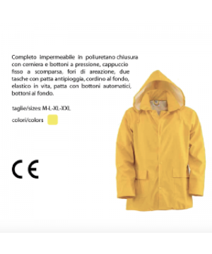 Cappotto impermeabile in...