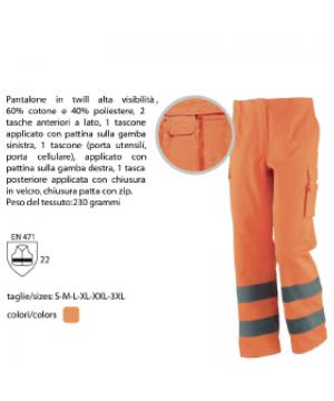 Pantalone alta visibilità...