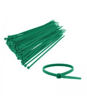 Fascette in plastica verde